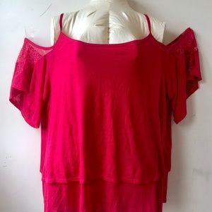 cold shoulder knit tip